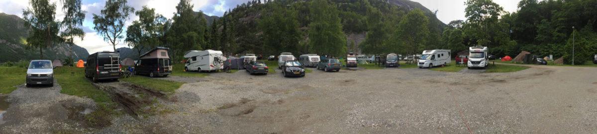 Campingplatz in Odda