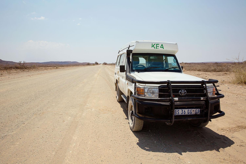 Namibische Strassen - ein Abenteuer für sich